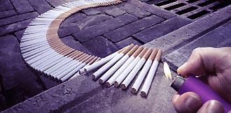 laatste sigaret